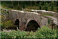 SD1499 : Bridge Over the River Esk by Peter Trimming