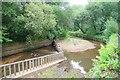 SJ8597 : River Medlock Debris Screen by Glyn Baker