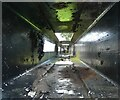 NS4473 : Inside of a balance beam by Richard Sutcliffe