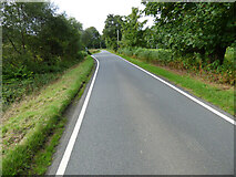 NS0081 : The A8003 road near Ormidale by Thomas Nugent