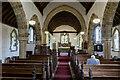 TF2778 : Interior, St Martin's church, Scamblesby by Julian P Guffogg