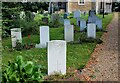 TL3966 : War graves, All Saints Churchyard, Longstanton by Martin Tester