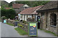 SS6548 : National Trust Heddon Valley visitor centre by David Martin