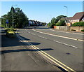 ST3090 : Bend in the A4051 Malpas Road, Newport by Jaggery