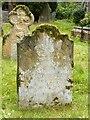 SK5239 : Gravestone to Samuel and Eliz (sic) Slack, d.1728/1760 by Alan Murray-Rust