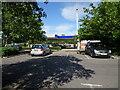 SZ2594 : Tesco Petrol View by Gordon Griffiths