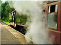 SD7914 : Steam and Smoke at Summerseat by David Dixon