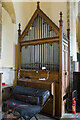 TF4369 : Organ, Ss Peter & Paul church, Skendelby by Julian P Guffogg