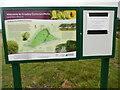 TQ0895 : Information Board at Croxley Common Moor by David Hillas