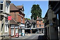 SO6299 : Glimpse of the Guildhall, Much Wenlock by Bill Harrison