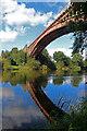 SO7679 : Severn Valley Railway - Victoria Bridge by Chris Allen