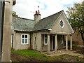 SK6952 : Lodge at Brackenhurst Hall by Alan Murray-Rust