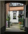 TG2308 : Norwich - Wrights Court off Elm Hill by Rob Farrow
