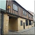 TG2308 : Norwich -  Strangers Club, 22 & 24 Elm Hill by Rob Farrow