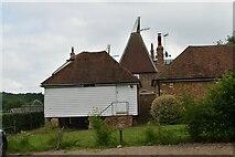 TQ6049 : Grange Farm Oast by N Chadwick