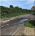 SO7111 : Puddle on Friday Street, Arlingham by Jaggery
