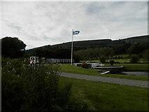 NH6140 : Caledonian Canal lock at Dochgarroch by Douglas Nelson