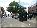 SZ1191 : Christchurch Road, Boscombe town centre by Malc McDonald
