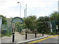 TQ4579 : Entrance to the Ridgeway, Plumstead by Malc McDonald