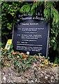 ST4793 : Parish Church information board, Shirenewton by Jaggery