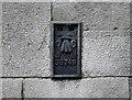 SD5193 : Flush Bracket Benchmark, County Hall, Kendal by Adrian Taylor