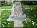 TQ0695 : World War Memorial on The Green, Croxley Green by David Hillas