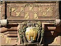 SP3378 : Detail on Coventry's Council House by Philip Halling