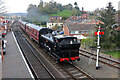 SO7975 : Severn Valley Railway - No. 7714 arriving at Bewdley by Chris Allen