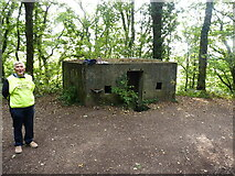 SK1705 : Pillbox on the canal bank by Richard Law