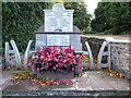 ST4793 : Shirenewton war memorial by Philip Halling