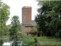 TL8978 : Euston watermill on the Black Bourn by Adrian S Pye