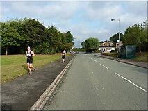 SK1905 : Fontenaye Road, in Coton Green by Richard Law