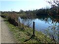 SK2653 : Carsington Water Path by Eirian Evans