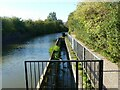 SP3483 : Canal overflow, Coventry Canal by Alan Murray-Rust