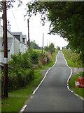 NR9378 : The B8000 road at Kilfinan by Thomas Nugent