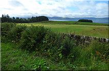 NR9277 : Farmland south of Kilfinan by Thomas Nugent