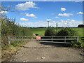 TQ5463 : Gate near Eynsford by Malc McDonald