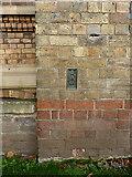 SK1109 : OS flush bracket S8587 - Lichfield Free Library by Richard Law