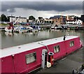 SO8218 : Boats moored in Victoria Dock by Mat Fascione