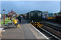 SK0307 : Chasewater Railway - Brownhills West Station by Chris Allen