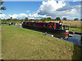 SO8660 : Droitwich Barge Canal - narrowboat Julie leaving lock No. 7 by Chris Allen