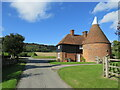 TQ6259 : Oast house at Wrotham Water Farm, near Trottiscliffe by Malc McDonald