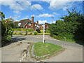 TQ6360 : Road junction in Trottiscliffe by Malc McDonald
