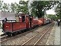 SH6038 : Palmerston heading a mixed goods train by Richard Hoare