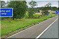 NY1382 : Northbound A74(M) near Lockerbie by David Dixon