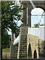 SK5737 : Wilford Suspension Bridge by Alan Murray-Rust