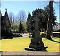 SJ8761 : War Memorial at Holy Trinity Church, Hightown by Eirian Evans