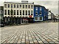 H4572 : Cobbled street, Omagh by Kenneth  Allen