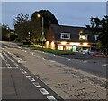 ST3091 : Illuminated SPAR shop, Larch Grove, Newport by Jaggery