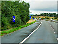 NS7070 : Northbound M73 approaching Junction 3 by David Dixon